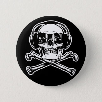 De digitale Knopen van de Piraat Ronde Button 5,7 Cm
