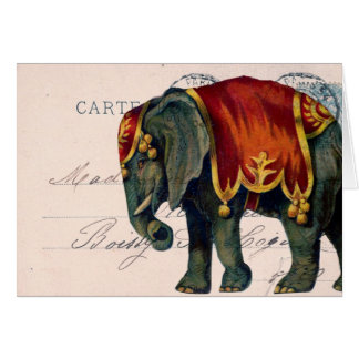 De Digitale Kunst van het vintage Briefkaart van