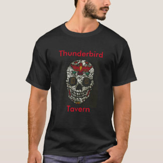 De Digitale Schedel van Thunderbird T Shirt