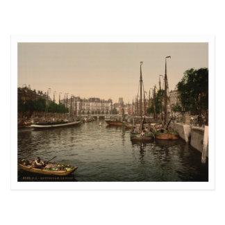 De dijk, Rotterdam, Nederland Briefkaart