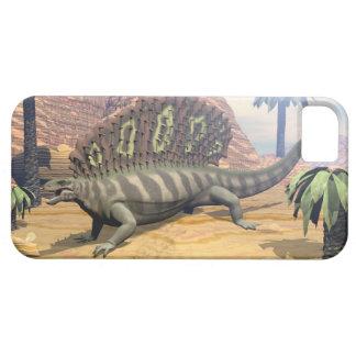 De dinosaurus die van Edaphosaurus in de woestijn Barely There iPhone 5 Hoesje