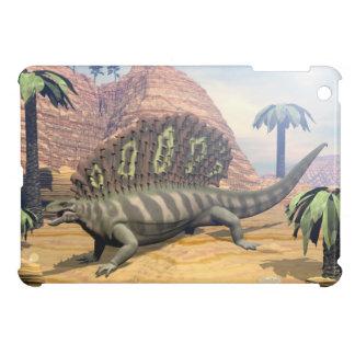 De dinosaurus die van Edaphosaurus in de woestijn Hoesjes Voor iPad Mini