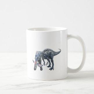 De Dinosaurus die van Suchomimus een Haai eten Koffiemok