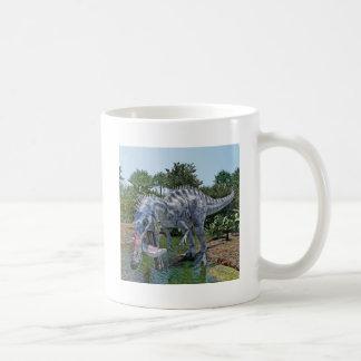 De Dinosaurus die van Suchomimus een Haai in een Koffiemok
