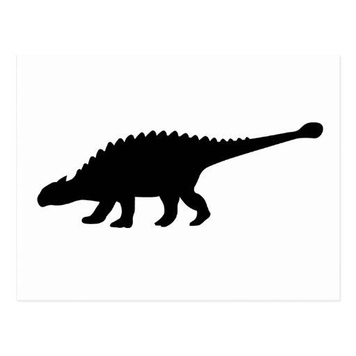 De Dinosaurus van Ankylosaurus Wens Kaarten
