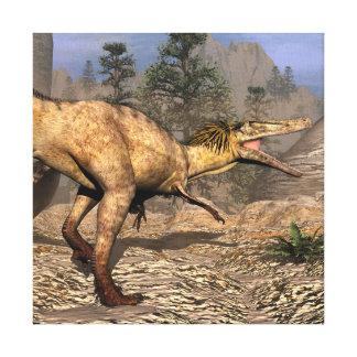 De dinosaurus van Austroraptor Canvas Print