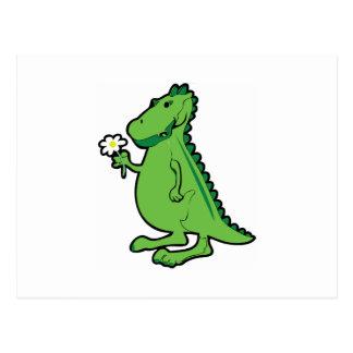 De Dinosaurus van de liefde Briefkaart