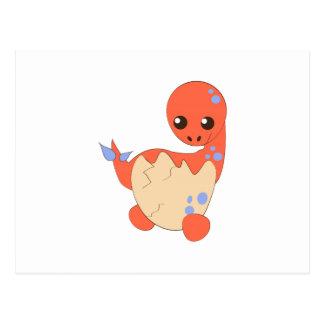 De Dinosaurus van het baby Briefkaart