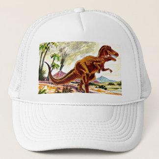 De Dinosaurus van Rex van tyrannosaurussen Trucker Pet