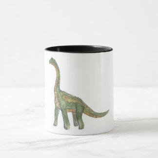 De dinosaurusmok van Brontosaurus Mok