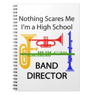 De Directeur van de band Ringband Notitieboek