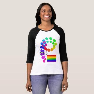 De Diversiteit van de Eenheid van de Vlag van de T Shirt