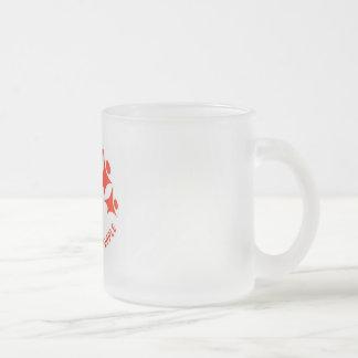De Diversiteit van de steun in de Pers Matglas Koffiemok