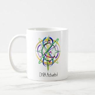 De DNA Geactiveerde Mok van de Koffie van het