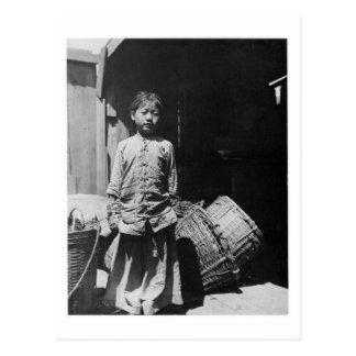 De Dochter van de vishandelaar - Vintage Foto