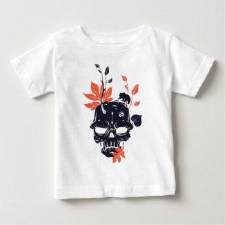 de dode schedel en draagt baby t shirts