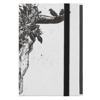 De dode (zwart-witte) zomer iPad mini hoesje