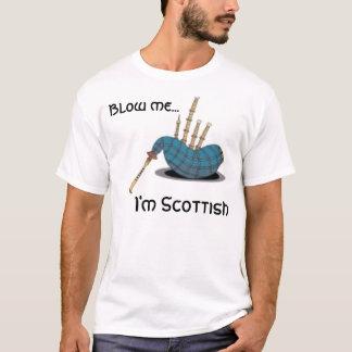 de doedelzak, blaast me…, ben ik Schots Shirt
