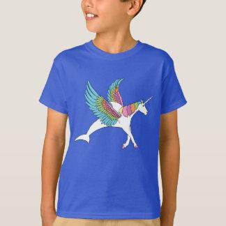 De Dolfijn van de Eenhoorn van Pegasus T Shirt