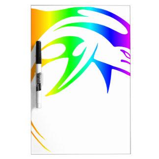 De Dolfijn van de regenboog Whiteboard
