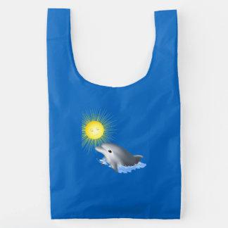 De Dolfijn van het baby Herbruikbare Tas
