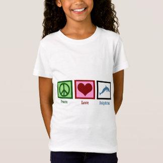De Dolfijnen van de Liefde van de vrede T Shirt