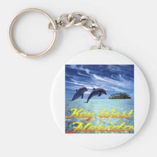 De Dolfijnen van Key West Florida Sleutelhanger