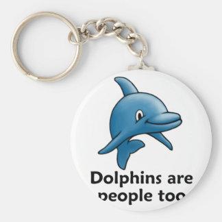 De dolfijnen zijn ook Mensen Sleutelhanger