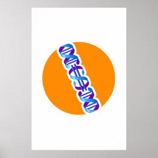 De Dollar van DNA Poster