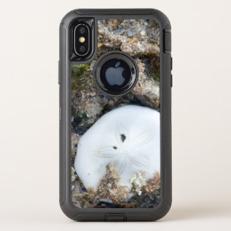 De Dollar van het zand in de Ertsader van Fiji at OtterBox Defender iPhone X Hoesje