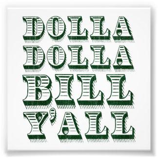 De Dollars van het Geld van het Contante geld van Foto Afdrukken