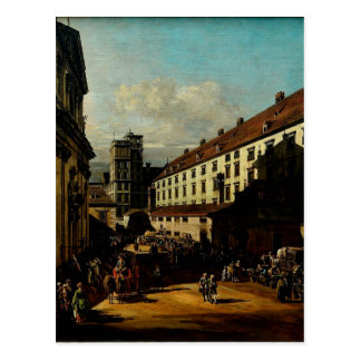 De Dominicaanse Kerk in Wenen Bernardo Bellotto Briefkaart