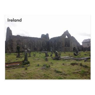 De Dominicaanse Priorij van Athenry. Co Galway, Briefkaart