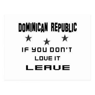 De Dominicaanse Republiek als u niet van het Briefkaart