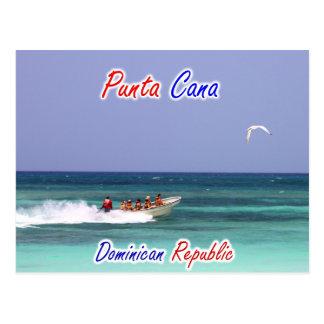 De Dominicaanse Republiek van Cana van Punta Briefkaart