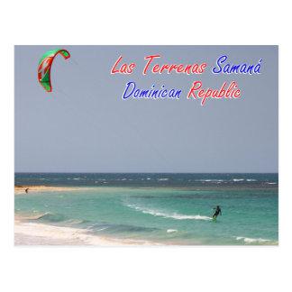 De Dominicaanse Republiek van Las Terrenas Samana Briefkaart