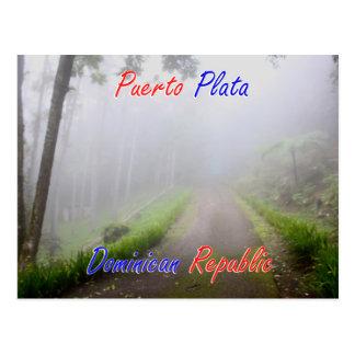De Dominicaanse Republiek van Plata van Puerto Briefkaart