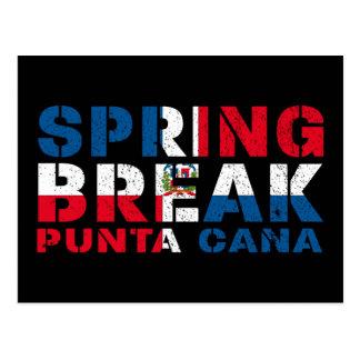De Dominicaanse Republiek van Punta Cana van de Briefkaart