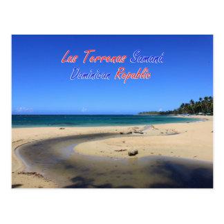 De Dominicaanse Republiek van Terrenas Samana van Briefkaart