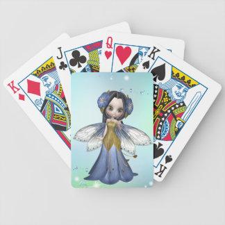 De donkerbruine Speelkaarten van de Vlinder van de Poker Kaarten