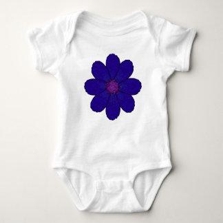 De donkere Blauwe Bloem van de Lavendel Romper