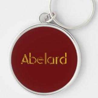 De Donkere Bruine Stijl Keychain van Abelard Sleutelhanger