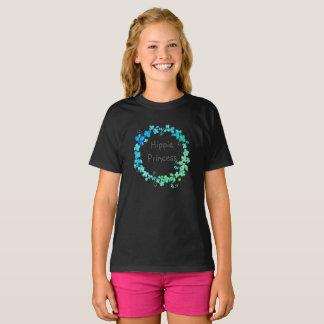 De donkere druk van de Prinses van de Hippie van T Shirt