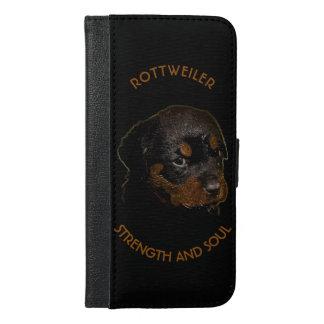 De donkere Leuke Hond van het Puppy Rottweiler