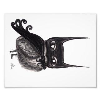 De donkere Nachtuil Fotoprints