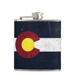 De Donkere Vlag Grunge van Colorado Heupfles