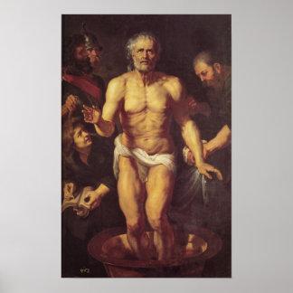 De dood van Seneca Poster