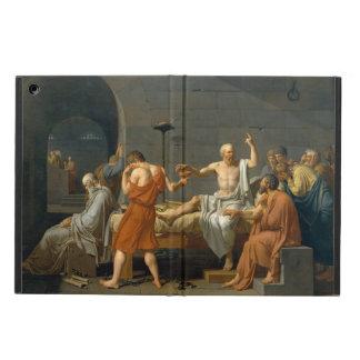 De dood van Socrates door Jacques-Louis David iPad Air Hoesje