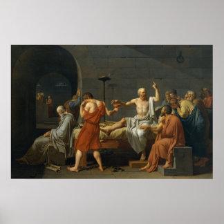 De dood van Socrates Poster