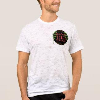 De Doorsmelting van Tiki Tequila Johnny Tiki T Shirt